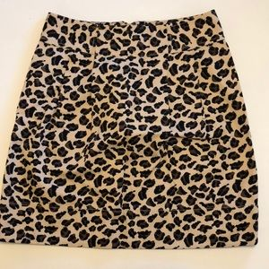 Marc by Marc Jacobs Leopard Skirt